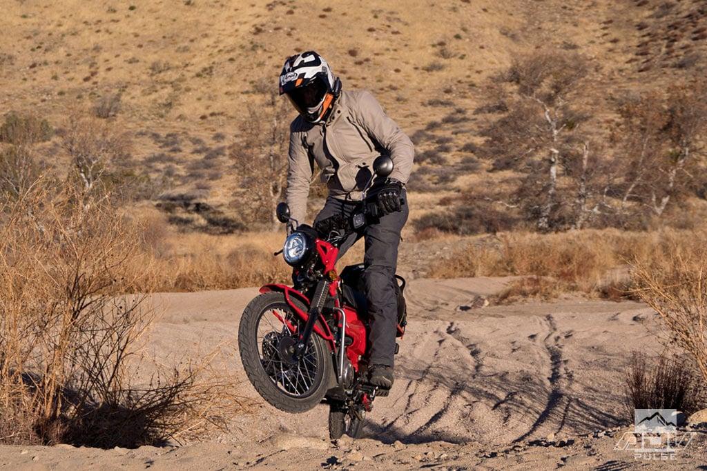 Honda CT125 adventure ride