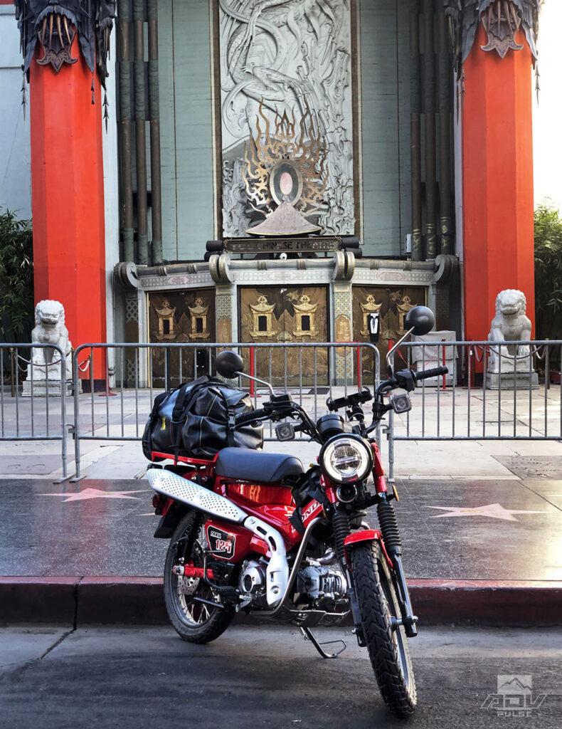 Honda Trail 125 adventure ride