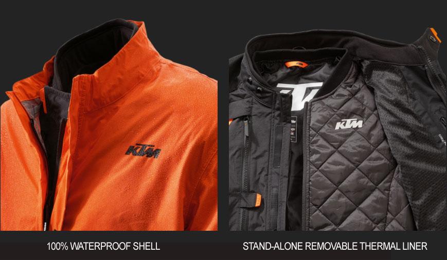KTM Terra Adventure Jacket motorcycle gear