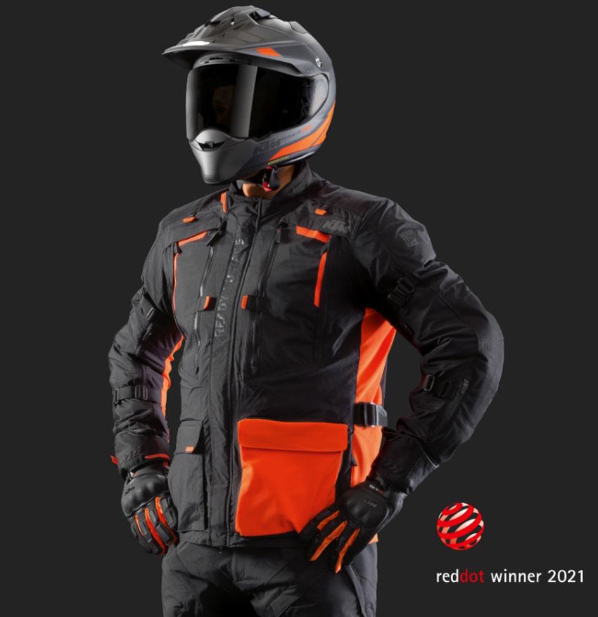 KTM Terra Adventure Jacket and pants motorcycle gear