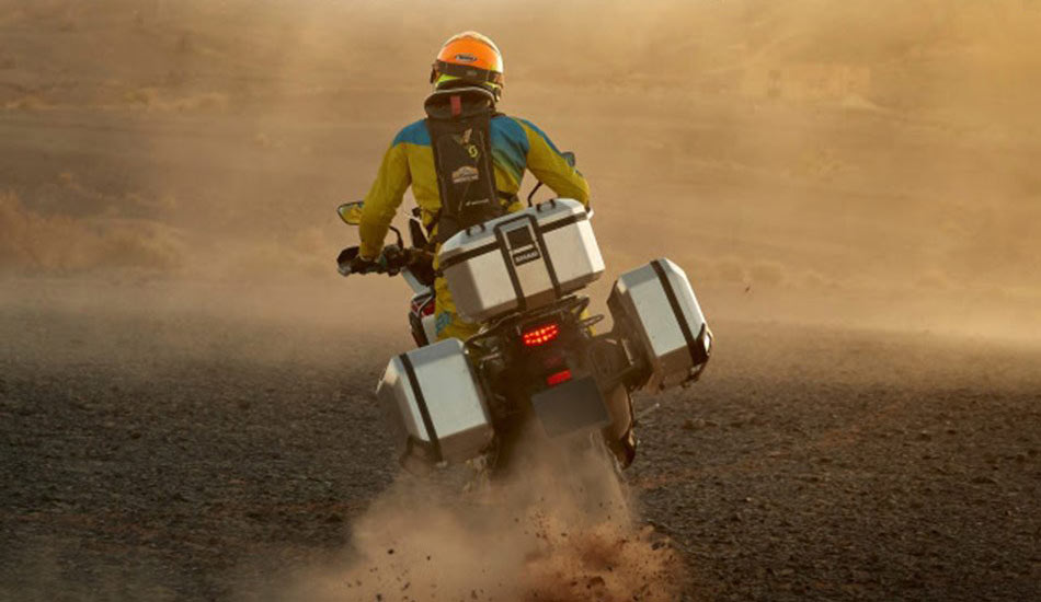 Shad Terra adventure motorcycle luggage