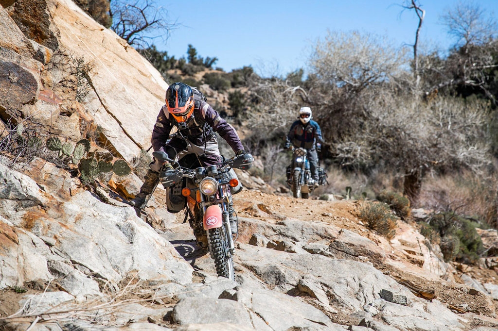 Budget adventure bikes challenge