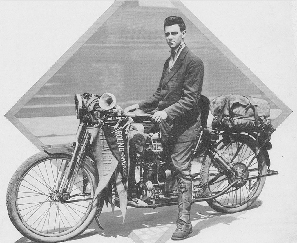 1912 Henderson Four used by Carl Stearns Clancy in the first ride around the world
