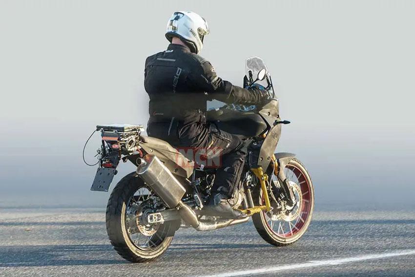 Aprilia Tuareg 660 adventure bike testing