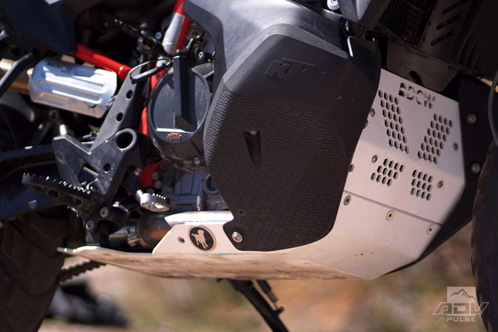 Black Dog Cycle Works Ultimate Skid Plate for the KTM 790 Adventure