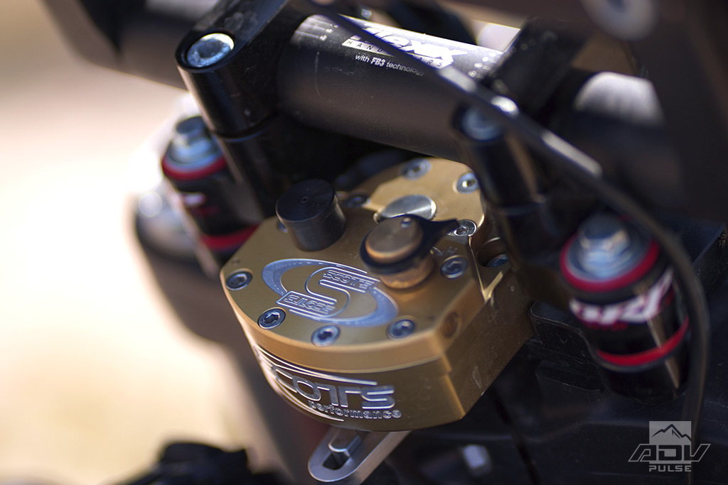 Scotts Stabilizer With BRP Sub Mount for the KTM 790 Adventure R