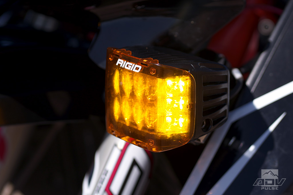 Rigid Dually Side Shooter Pro Auxiliary Lights Kit