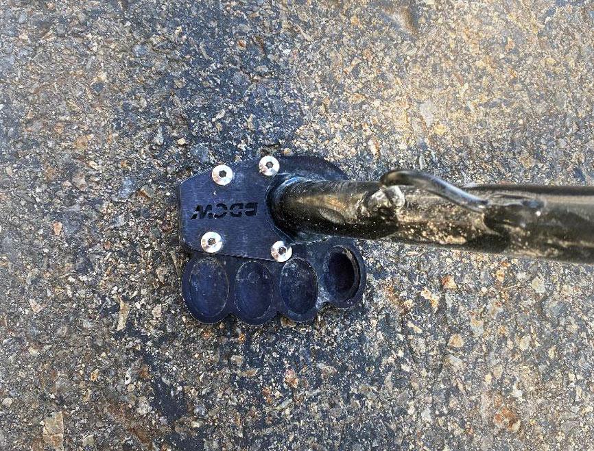 Black Dog Cycle Works KTM 790 Adventure R Side Stand Enlarger