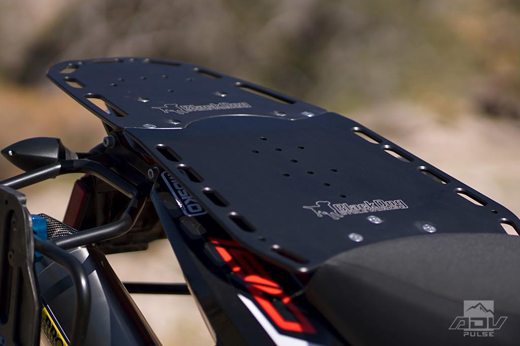 Black Dog Cycle Works KTM 790 Adventure R Rear/Pillion Rack