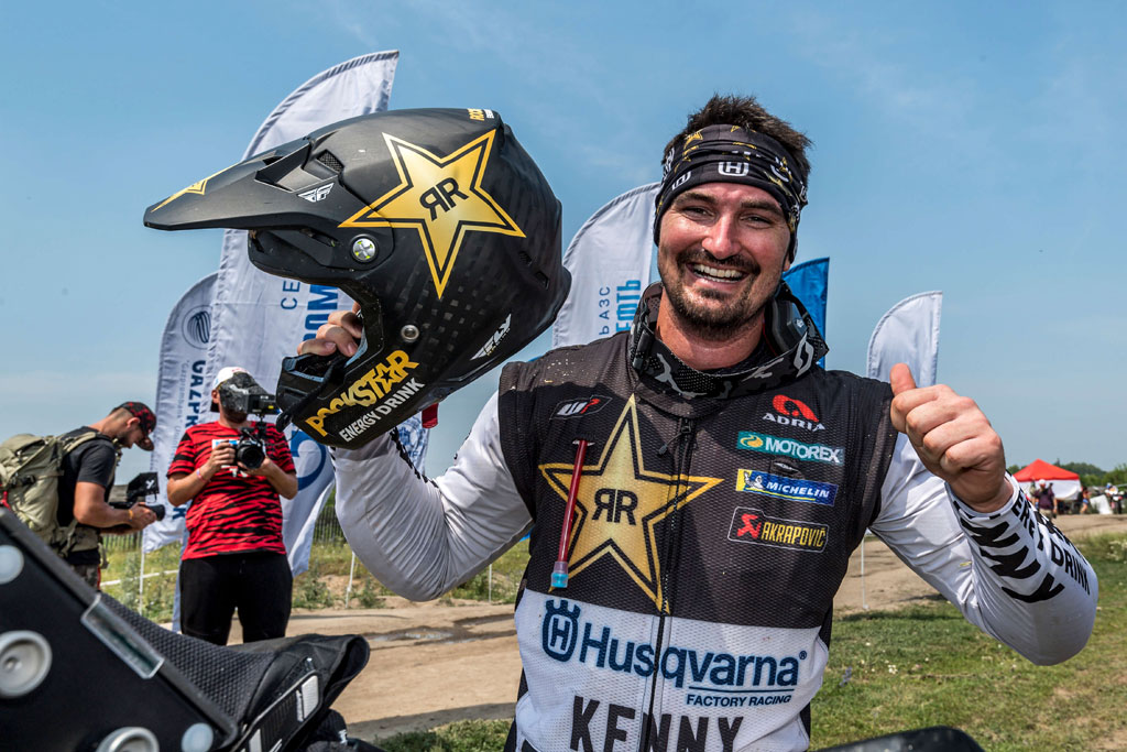 Skyler Howes takes second place at 2021 Silk Way Rally