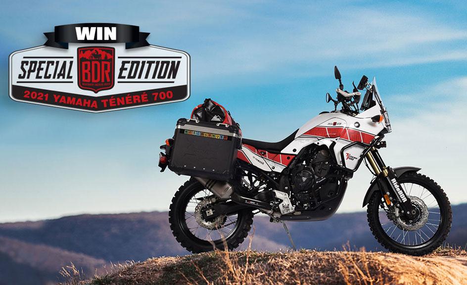 BDR Yamaha Tenere 700 Sweepstakes