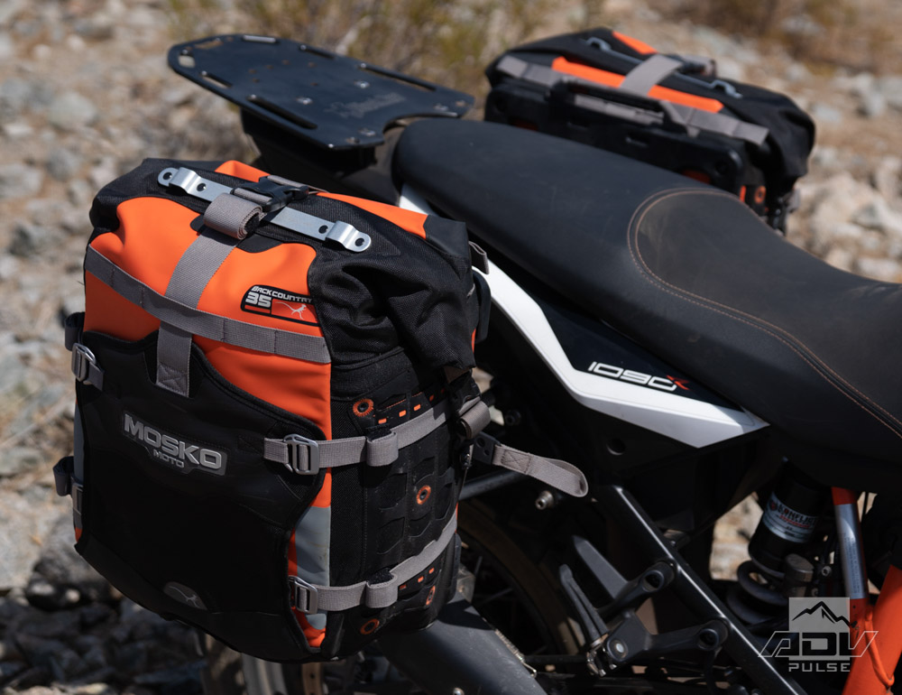 Mosko Moto Backcountry Soft Motorcycle Panniers