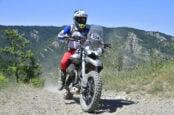 Modded Moto Guzzi V85 TT Competes in Italy's Motorally