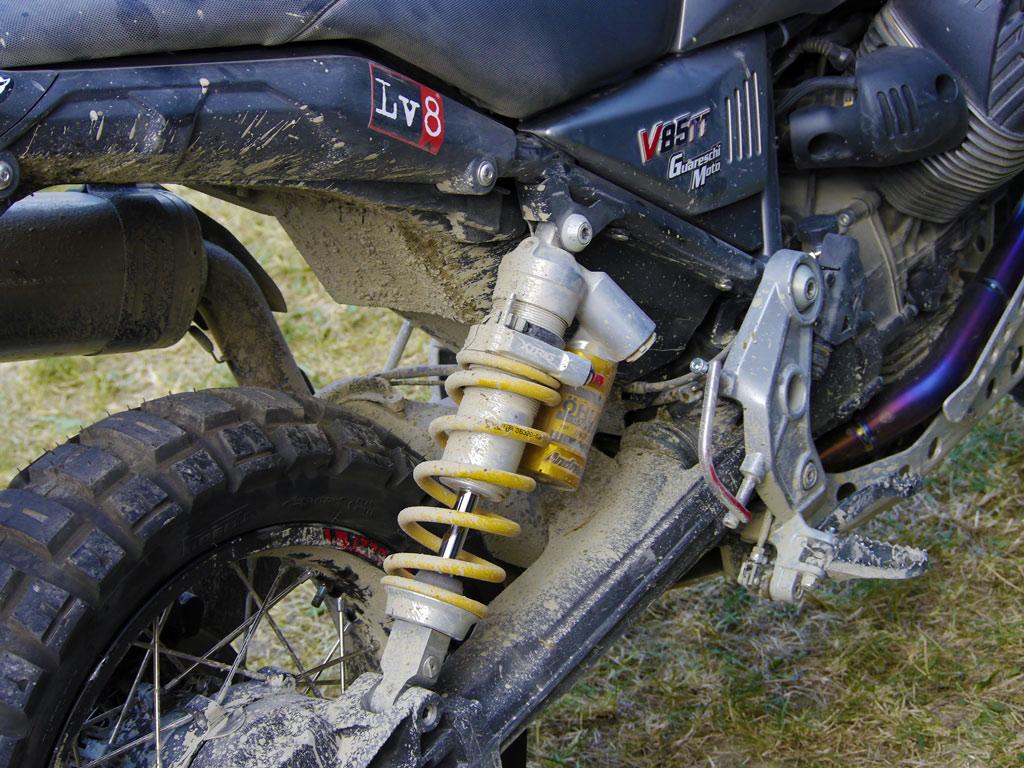Moto Guzzi V85 TT takes on Motorally