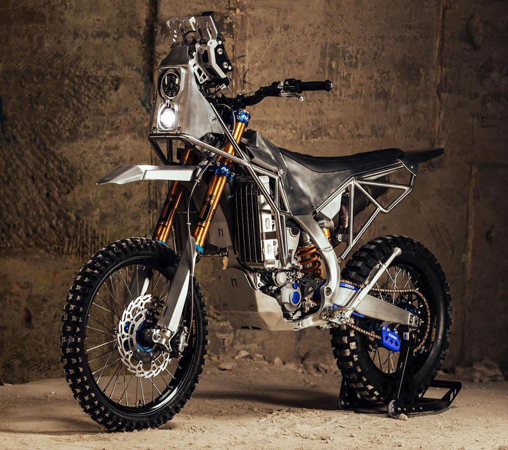 Yamaha WR450F Rally Bike