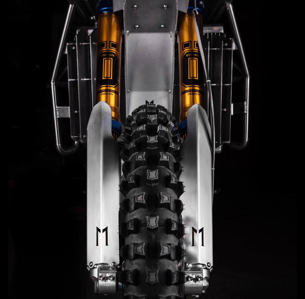Yamaha WR450F custom build