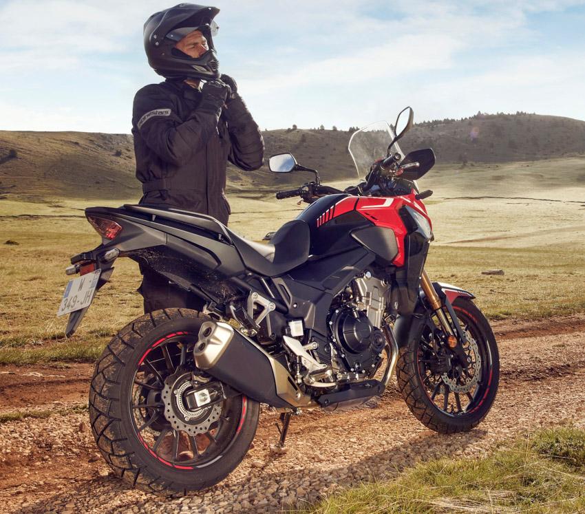 2022 Honda CB500X adventure motorcycle