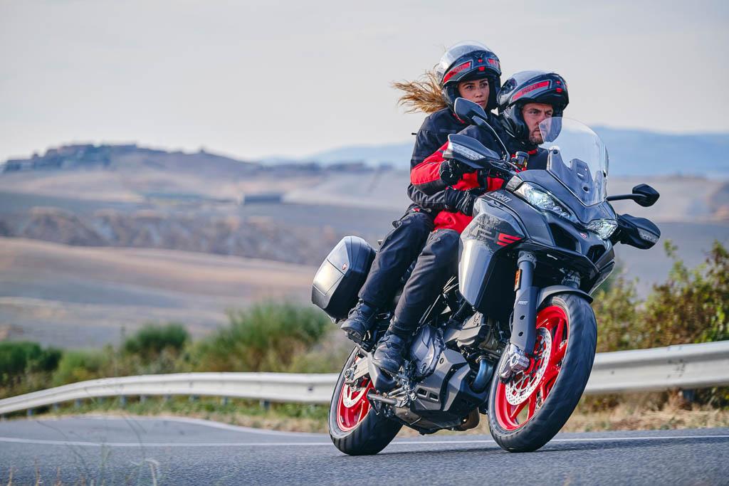 Ducati Multistrada V2 adventure touring motorcycle