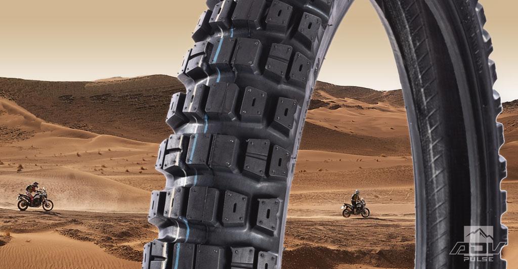Motoz Tractionator Dual Venture Adventure Motorcycle Tire