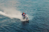 Robbie Maddison Sets Record Riding On Water From Europe to Asia