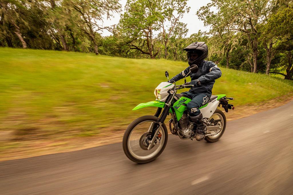 Kawasaki KLX230S dual sport motorcycle